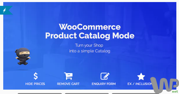 WooCommerce Product Catalog Mode & Enquiry Form