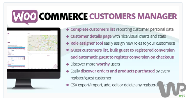 WooCommerce Customers Manager