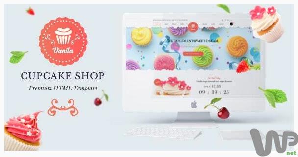Bakery - Cakery HTML5 Template