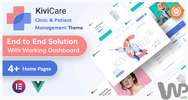 KiviCare - Medical Clinic & Patient Management WordPress Theme