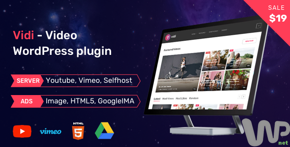Vidi - Video WordPress Plugin